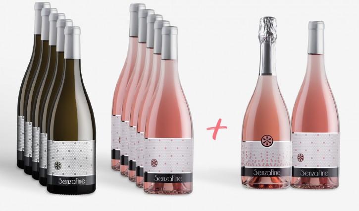 Großes 12er Sommer-Weinpaket La Vie en Rose