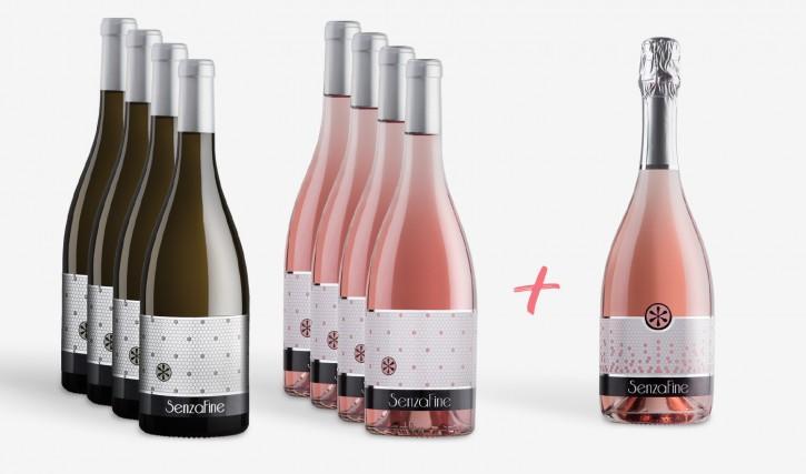 Kleines 9er Sommer-Weinpaket  La Vie en Rose