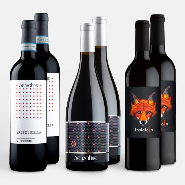 6er SenzaFine Wein-Abo VIII