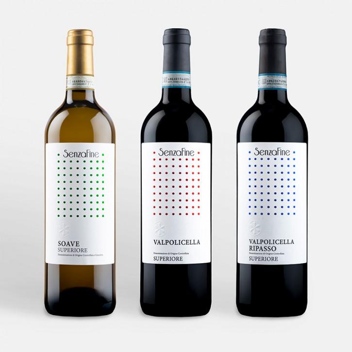 3er Schnupper-Weinpaket Classic Flavors