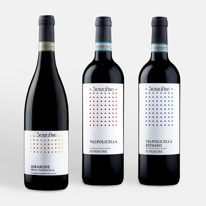 3er Schnupper-Weinpaket Classic Red